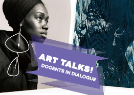 Header image for the docent tour with Ayinoluwa Abegunde & Hyohee Kim.
